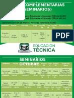 Guias Complementarias (Seminarios) Octubre 2016