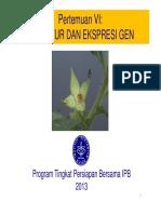 Kuliah-6 Sruktur Dan Ekspresi Gen Compatibility Mode