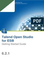TalendOpenStudio ESB GettingStarted 6.2.1 En