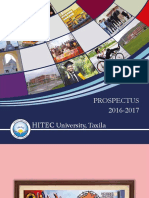 Prospectus 2016-17 HITEC University
