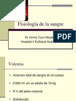 Fisiología de La Sangre