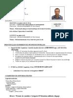 CV Construction Hydraulique