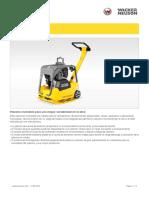 Ficha Tecnica Plancha Compactadora Bpu3050a, Dpu3050h