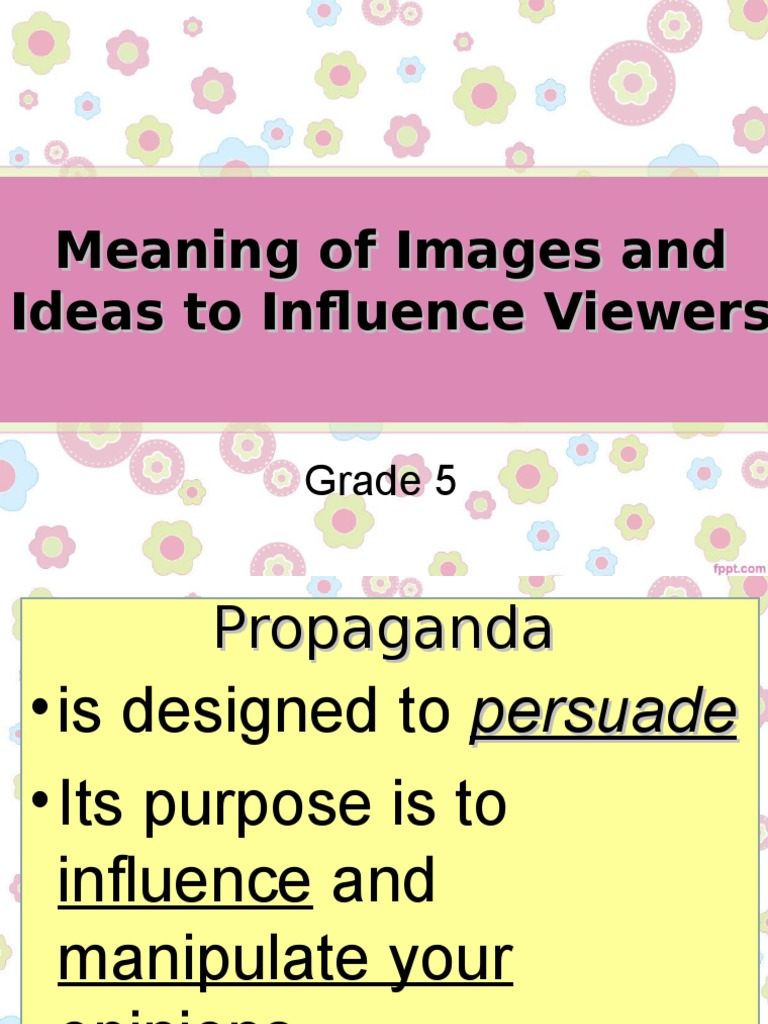 Propaganda Stereotype Point Of Viewppt