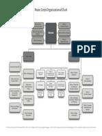 Peace Corps OST Organizational Chart