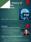 Sternberg's Triarchic Theory of Successful Intelligence - Lade, Lloyd (1)