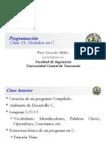 Clase Programación 15