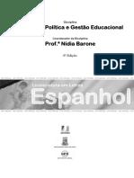 Estrutura, Política e Gestão Educacional