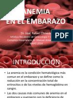 Anemia Durante El Embarazo
