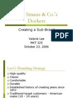 Levin Straus Dockers Slide