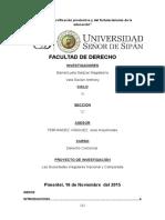 Monografia de Sociedades Irregulares Naciona y Comparada