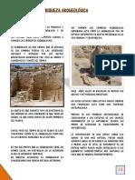 La Riqueza Arqueológica