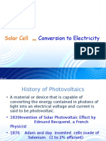 Physics of Solar Cell