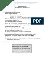 Ficha de Matemática 10 º. Ano