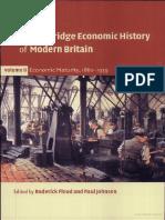 The Cambridge Economic History of Modern Britain Vol 2