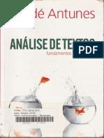 ANTUNES, Irande_ - Ana_lise de Texto PDF