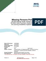 Missing Patients Procedure
