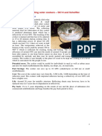 Concentrating Solar Cookers SK14 and Scheffler With a Case Study on Thirupathy
