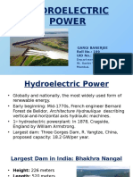 Hydroelectric Power-