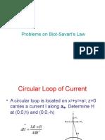 Quick Tutorial on Biot Savart Law