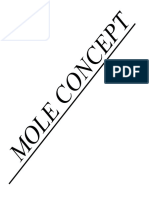 Assignment Mole Concept JH Sir-4283 Redacted