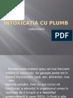 Intoxicația Cu Plumb