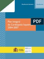 Plan Integral de Cardiopatía Isquémica