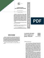 La Evolucion Del Sector Publico Español EnElPeriodo1960-2000