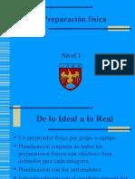 9- Preparación Física