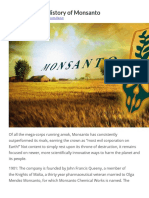 The Complete History of Monsanto & Bayer Pharma