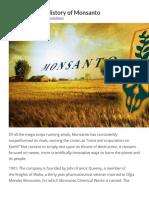 The Complete History of Monsanto & Bayer Pharma