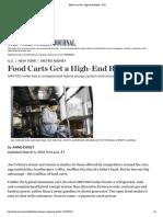 Food Carts Get a High-End Reboot - WSJ