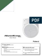 Roland HandSonic HPD-20_OM