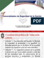 Generalidades de Seguridad de La Nación