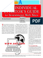 Individual Investor's Guide to Investment