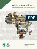 De La Fragilité à La Résilience - Gestion Des Ressources Naturelles Dans Les États Fragiles Africains - Rapport Sommaire