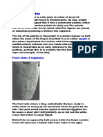 Narmer Palette & Maceheads