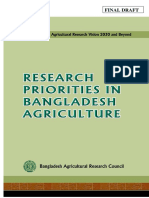 Research Priorities Bangladesh Agriculture