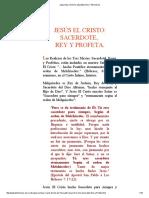 6jesus El Cristo Sacerdote y Profeta