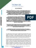 Contestación al PSOE  - 9 Junio