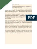 Ejercicio Estructura financiera