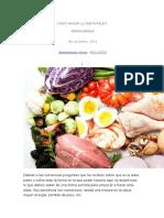 Dieta Del Paleo