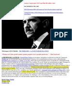 28-03-2016-Barack-Obama est Un Etre Robotoïde Biologique Électronique Sous Contrôle Mental Né en Suisse