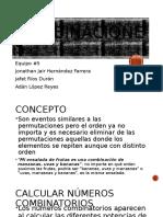 Combinaciones formulas, conceptos y ejemplos