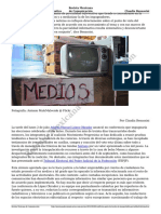 Conflictos Post Electorales La Insoportable Parcialidad Informativa