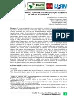 Capital Social e Agricultura Familiar Uma Aplicacao Da Tecnica de Analise Multivariada