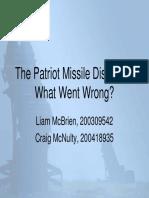 Patriot Missile PM Presentation