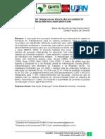 o Mercado de Trabalho Na Educacao No Nordeste Brasileiro Nos Anos 2000 e 2010