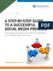 SM-HowToGuide-A Step-By-Step Guide to a Social Media Program