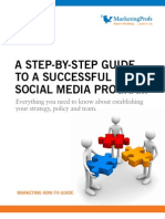 SM-HowToGuide-A Step-By-Step Guide to a Social Media Program
